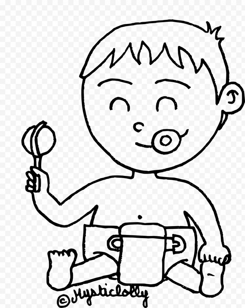 Silhouette - Drawing Child Painting - Watercolor Free PNG