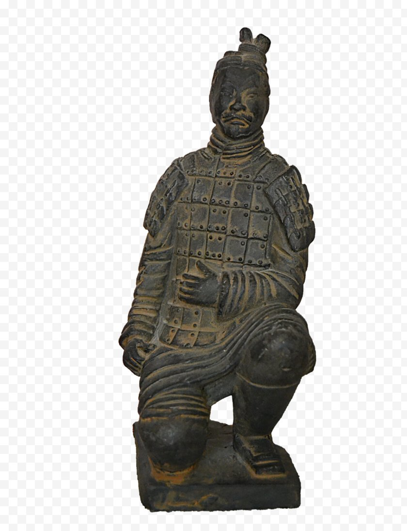 Tree - Statue Terracotta Army Organist - Frame - Top View Free PNG