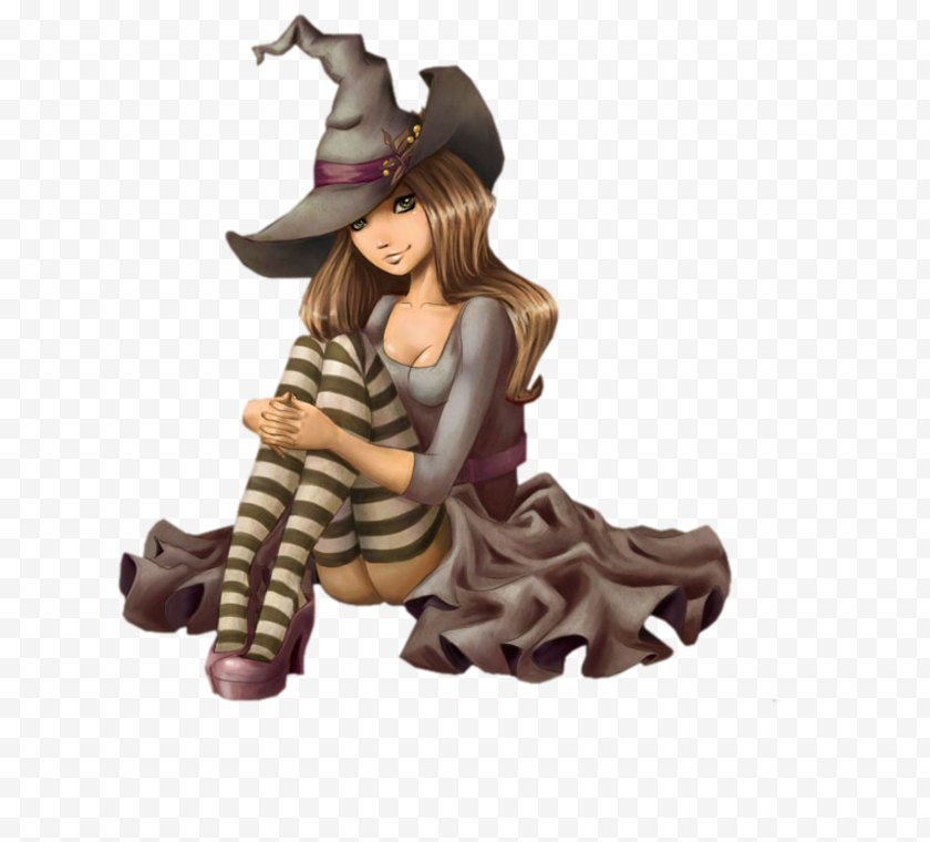 Halloween Film Series - Toy - Bruges Witch - Art Free PNG