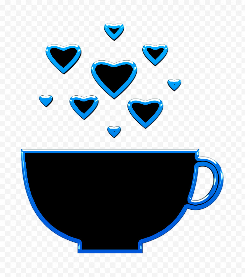 Food Icon HeartBeat Icon Cup With Heart Bubbles Icon Free PNG