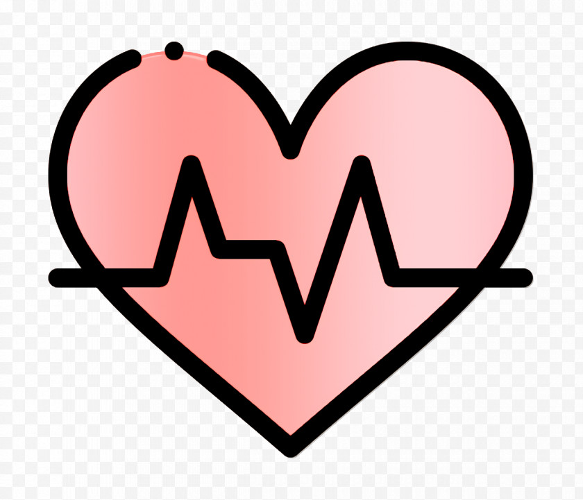 Health Icon Medicaments Icon Heartbeat Icon Free PNG