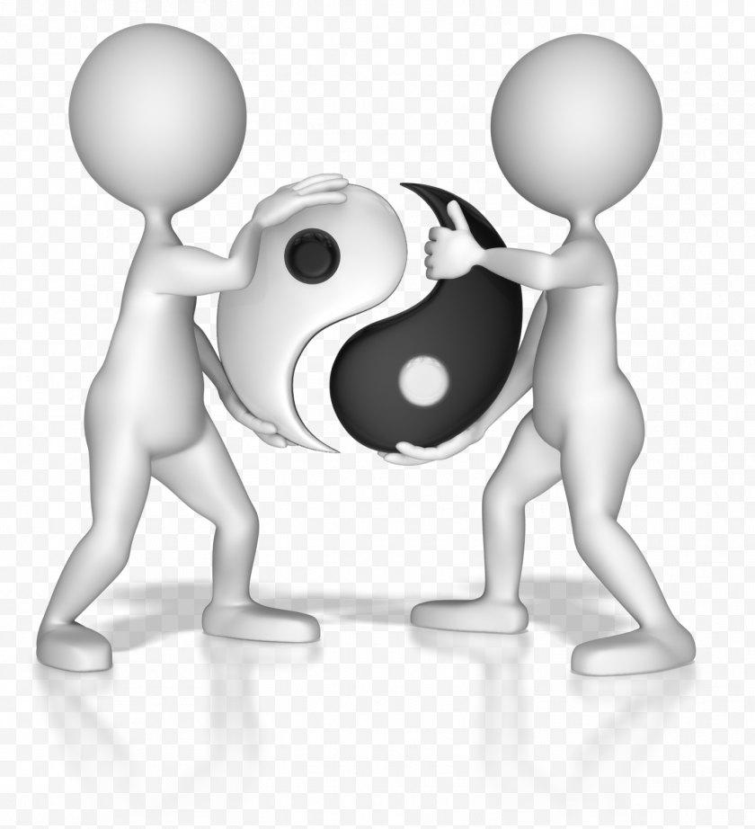 Cartoon - Symbol Yin And Yang Definition Clip Art - Frame Free PNG