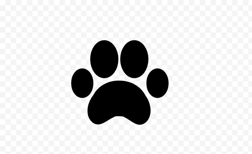 Dog - Paw Footprint - Logo - Prints Free PNG