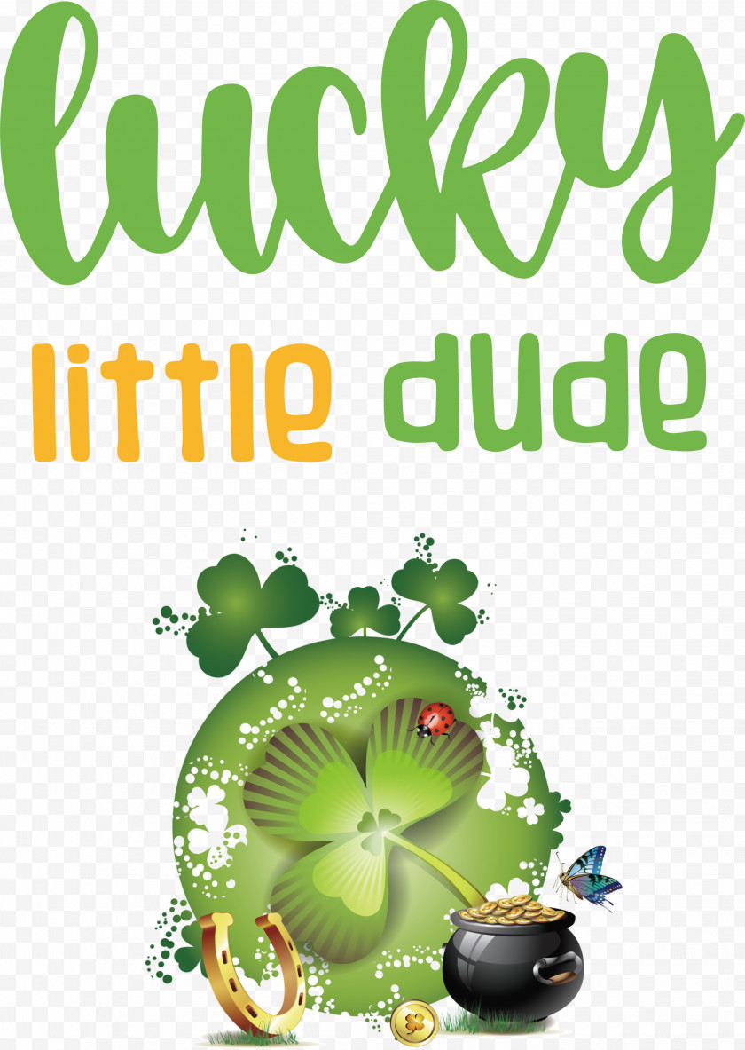 Lucky Little Dude Patricks Day Saint Patrick Free PNG