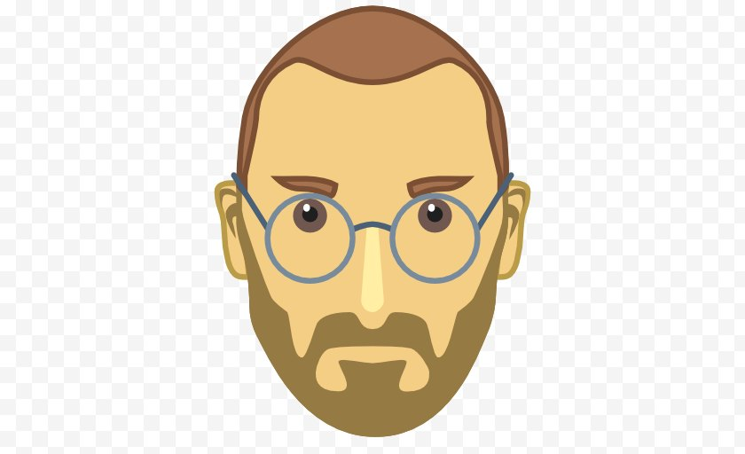 Eyewear Icon Steve Jobs The Second Coming Of Apple Cartoon Free Png