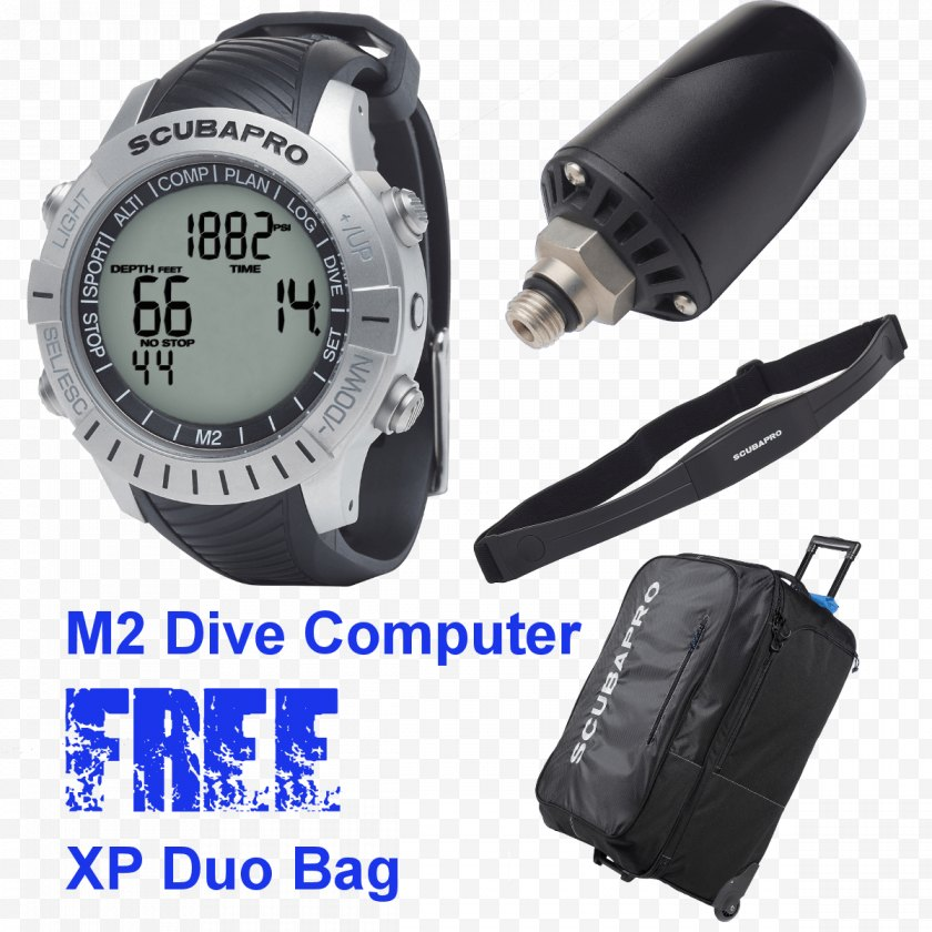 Dive Computers - Scubapro Underwater Diving Scuba Set Equipment - Swimming Fins - Computer Free PNG