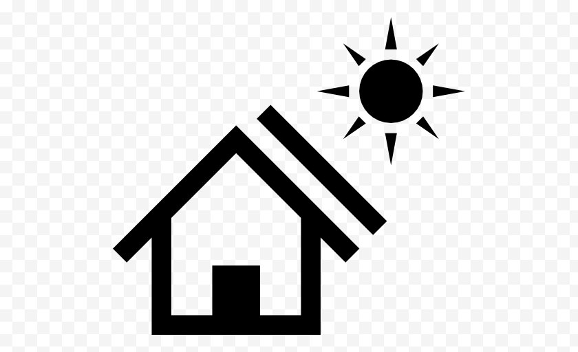 Home Repair - Barclays Africa Group Energy Absa Vehicle & Asset Finance Trade Centre Mortgage Loan Weatherization - Monochrome - Solar Panel Free PNG