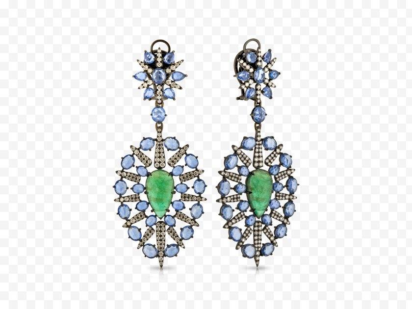 Charms Pendants - Emerald Earring Jewellery Gold - Jewelry Design - Earrings Free PNG