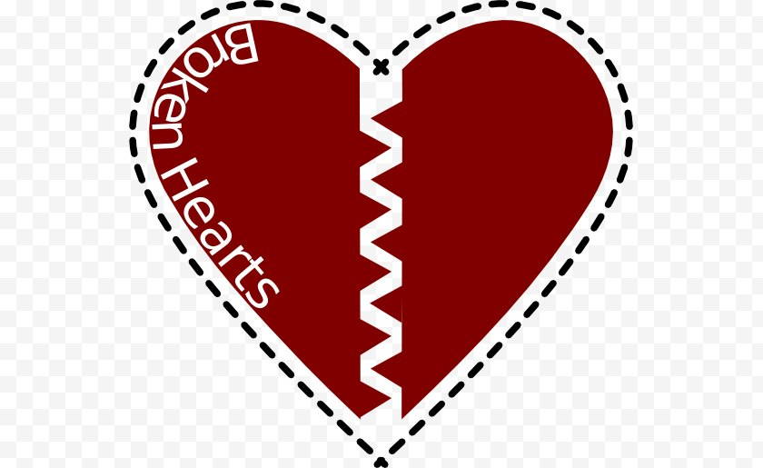 Tree - Broken Heart Clip Art - Flower - Pictures Of Feelings Free PNG