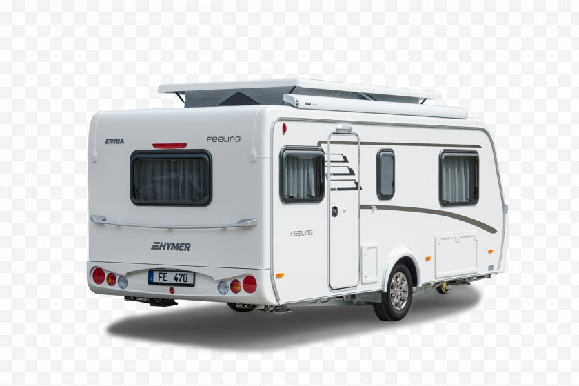 Trailer - Caravan Campervans Hymer Vehicle - Mode Of Transport - Feelings Free PNG
