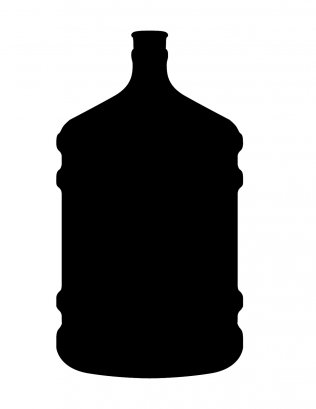 Water Bottle Line Art Black And White Free Png